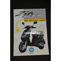 Piaggio Zip Fast Rider Catalogo Original Concesionaria