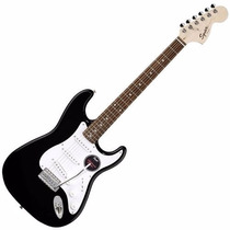 Guitarra Electrica Stratocaster Squier California Rwn Black