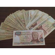 Billetes S/circ.de Argentina. Lote De 31 De $ 1.000