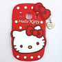 Funda Silicona Hello Kitty Samsung Fame 6810 Microcentro