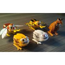 Set De Animalitos Antiguos A Cuerda De Hojalata Japoneses