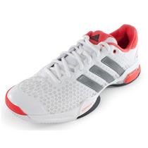 Zapatillas Adidas Modelo Tenis Barricade Team 4 Blanco/coral