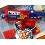Pistola Lanzadora Dardos Super Heroes Super Grande Excelente