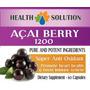 Acai Berry 1200, Bajar De Peso, Importado Usa, Max Pureza