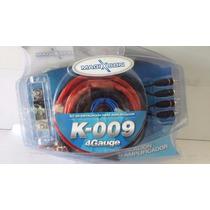 Kit De Cables 4g 4 Gauge Para Potencias 5000w Zona Norte