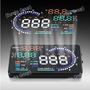 Scanner Automotor Obd2 Digital Proyectable Parabrisa Rpm Vel
