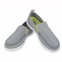 Crocs Walu Light Grey/white Hombre Envios Todo Pais