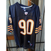 Camiseta Nfl Rbk Onfield Usa,chicago Bears #90,talle S Nueva