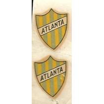 * Dos Antiguos Calco Al Agua Atlanta