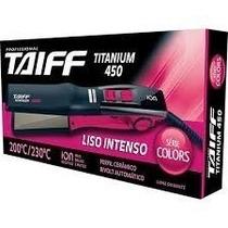 Plancha Taiff Titanium Colores 450f Ion Alisados + Regalo..!
