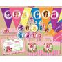 Kit Imprimible Candy Bar Frutillitas - Editable - #214