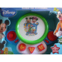Tambor Con Actividades De Mickey Mouse Musica Luz Ritmos