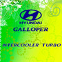 Calco Intercooler Turbo De Hyundai Galloper