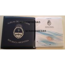 Album De Monedas Argentinas Vk Tomo 4 + Carpeta, 1994 A 2007