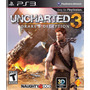 Combo Uncharted 2 + Uncharted 3 Ps3 Original Nuevo Físico