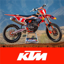 Kit De Graficas - Calcos Ktm 3m - Sxf/exc/xc/sx