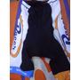 Calza Corta Team Racer Shimano Blanco/negro