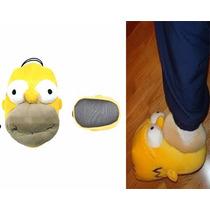 Pantuflas De Homero Y Sus Amigos