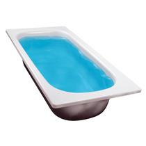 Bañera De Acero Enlozada 1.60 Antideslizante