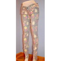 Pantalon Flores Como Quieres Como Nuevo