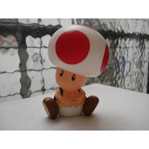 Muñeco Toad Hongo Mario Bros Mc Donalds Sin Uso Impecable