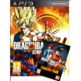 Dragon Ball Ps3 Xenoverse +season Pass Incluye Todos Los Dlc