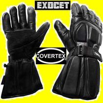 Guante Exocet Invierno Moto Abrigo Thinsulate Kevlar