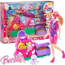 Muneca Barbie Ocean Treasure Explore Original De Mattel.
