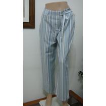 La Ventana T36 Pantalon Lino Elastizado Celeste (ana.mar)