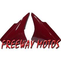 Juego Cachas Honda Cg 150 Color Bordo En Freeway Motos !