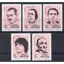 Argentina 1971 Gj 1557-61** Mint Me 892-6 Actores Argentinos