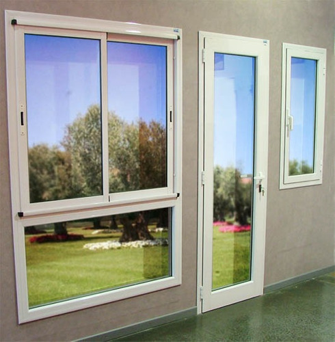 Aberturas raja de aluminio blanco 50x110 vidrio repartido for Cotizacion aluminio argentina