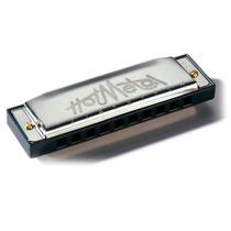 Armonica Diatonica Hohner Hot Metal 20 Voces Acero Envios