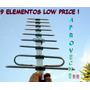 Tdt Yagi Digital Tda Full Hd Y 3d 9 Elementos Dipolo Aislado