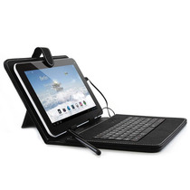 Estuche Funda Eco Cuero Teclado Tablet 7 Pulgadas