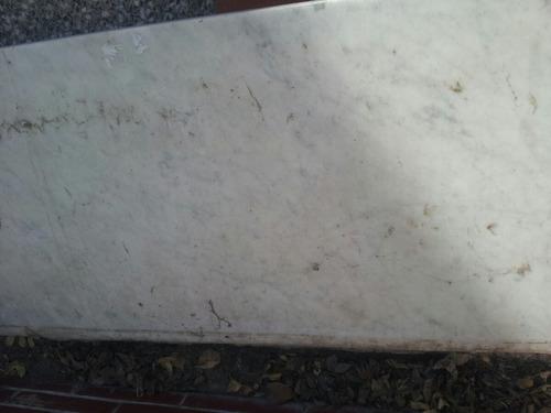 Mesada De Cocina Marmol De Carrara Blanco 6000 Lbotv