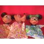 Lote 3 Títere Orig Disney Ind Argentina Muy Buenos Retro-toy