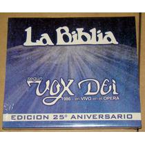 Vox Dei La Biblia En Vivo 25 Aniv Cd Sellado