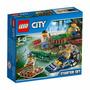 Lego City 60066 Policia Del Pantano Original