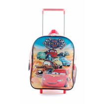Mochila Cars Y Monster University 12 Carro - Licencia Disney