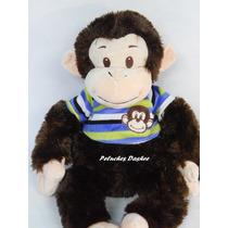 Mono De Peluche Con Remera 50cm