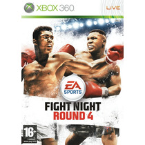 Fight Night Round 4 Xbox 360 Original
