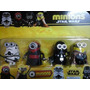 Set Minions Star Wars Heroes X 4 Decoración Adorno Tortas