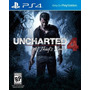 Uncharted 4 The Thief´s End Ps4 Fisico Nuevo Xstation