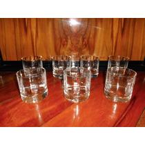 6 Vasos Whisky Facetados (ángela)