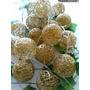 Guirnaldas Con Luces Esferas De Hilo Eventos Navidad Decorac