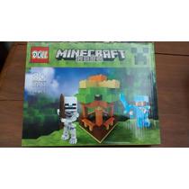 Minecraft Minifigura Simil Mas De 98 Pizas Con Dos Figuras