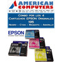 Cartuchos Epson T195 Original Combo Xp201 Neg+amar+mag+cyan