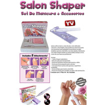 Salon Shaper Set Manicura Kit Con Torno