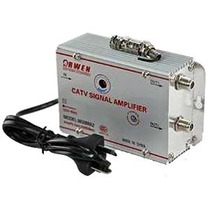 Amplificador Repartidor De Señal Cable Tv Antena 2 Salidas